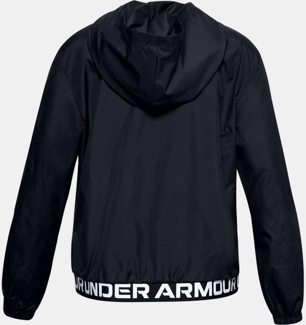 Girls UA Play Up Woven Jacket