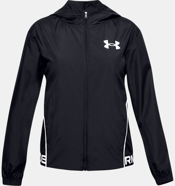 Girls UA Play Up Woven Jacket