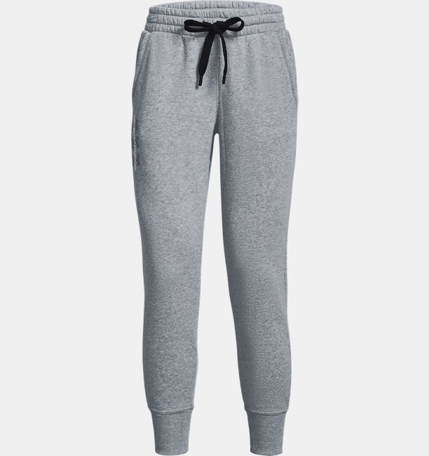Womens UA Rival Fleece AMP Pants