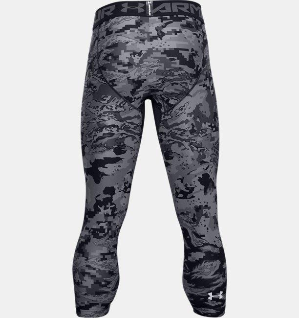 Mens HeatGear® Printed ¾ Leggings