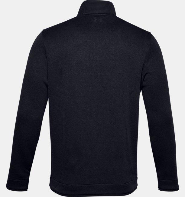 Herentop UA Storm SweaterFleece met korte drukknoopsluiting