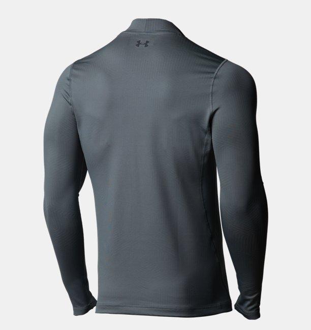 Mens ColdGear Infrared® Long Sleeve Golf Mock