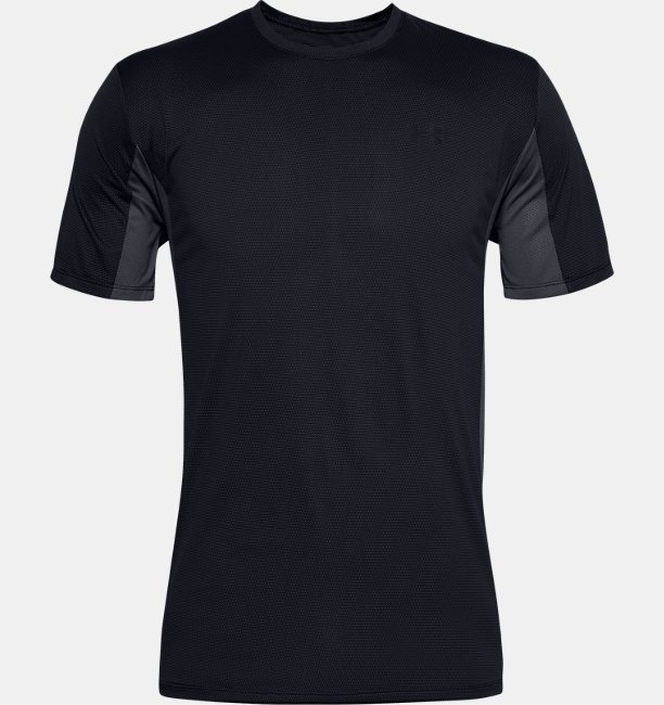 Mens UA Training Vent Short Sleeve