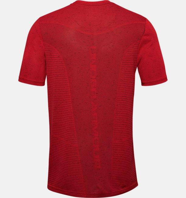 Mens UA Seamless Logo Short Sleeve