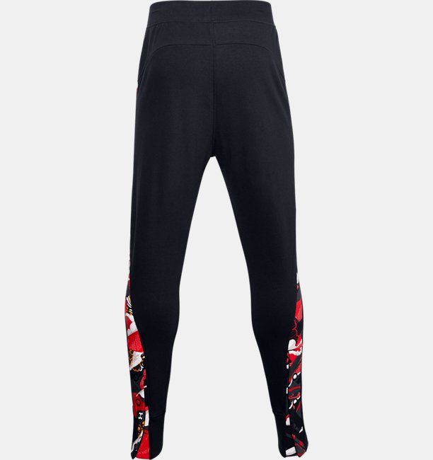 Mens UA CNY Fleece Snap Pants