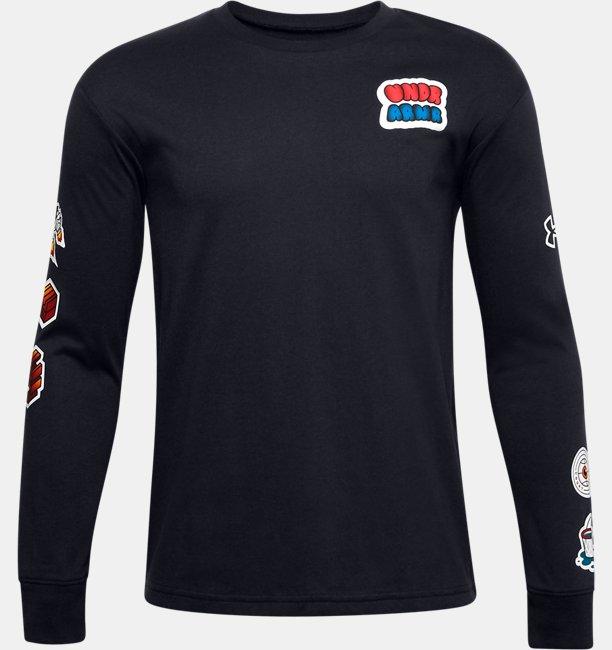 Camiseta de manga larga UA Graphic para niño