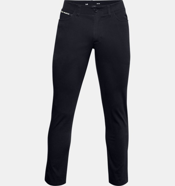 Mens UA Range Unlimited Slim 5-Pocket Tapered Trousers