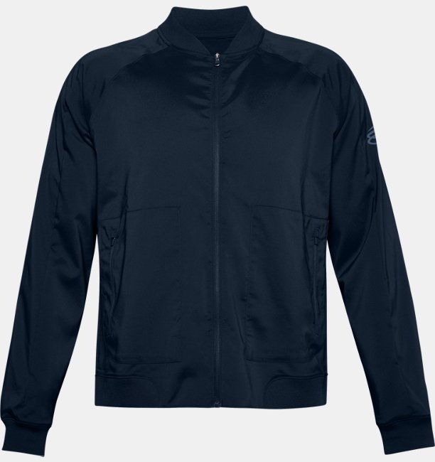 Mens Curry UNDRTD Warmup Jacket
