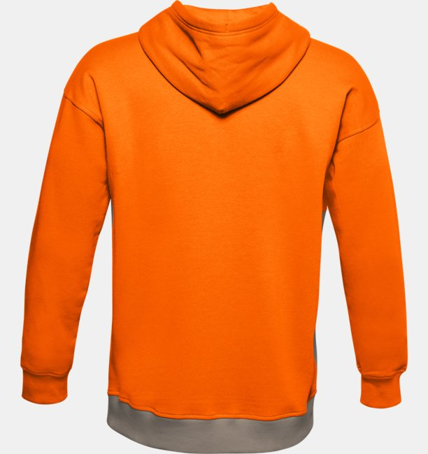 Herenhoodie UA Rival Fleece Colorblock
