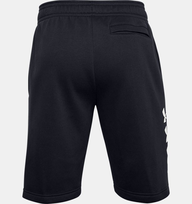Mens UA Rival Fleece Multilogo Shorts