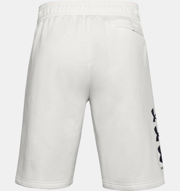 Mens UA Rival Fleece Multilogo Shorts