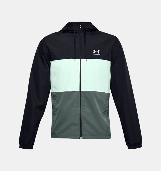 Mens UA Sportstyle Wind Full Zip