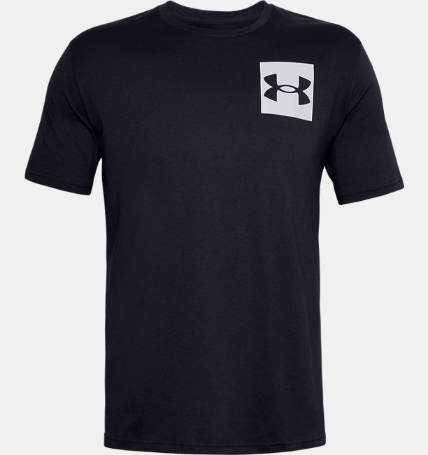 Mens UA Box Logo Short Sleeve
