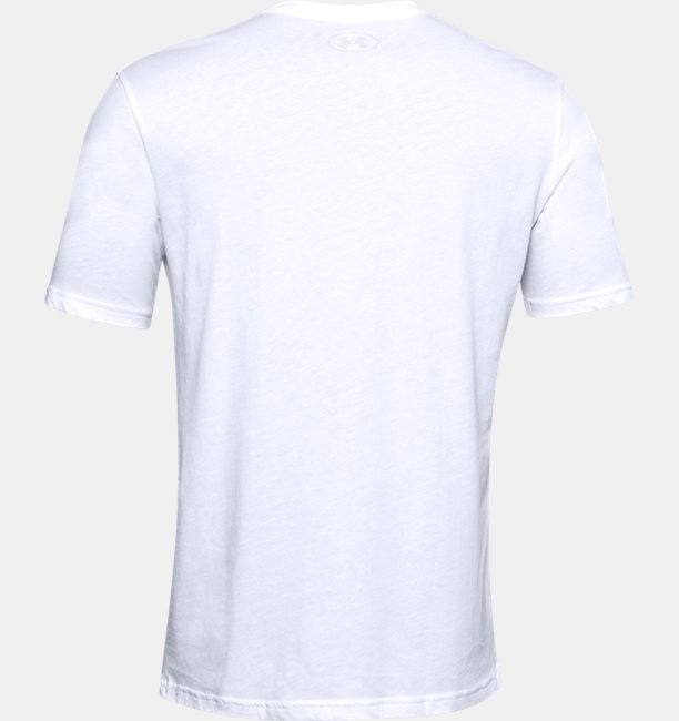 Mens UA Camo Box Logo Short Sleeve