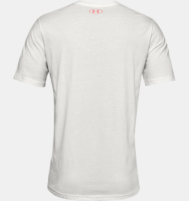 Mens UA Shattered Box Logo Short Sleeve