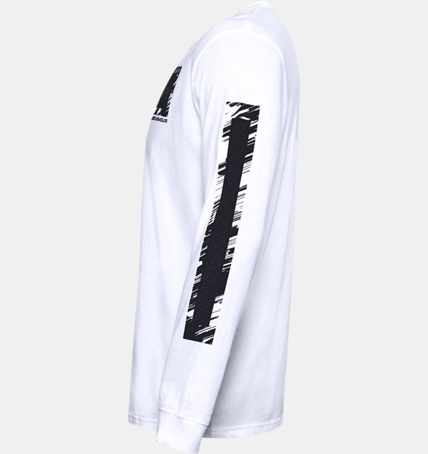 Mens UA Box Logo Sketch Long Sleeve