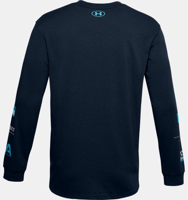 Mens UA Multi Logo Long Sleeve