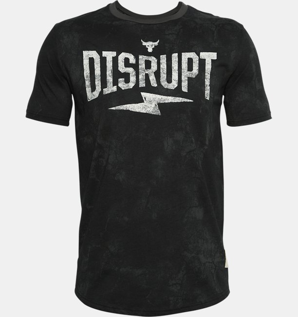 Mens Project Rock Disrupt Short Sleeve