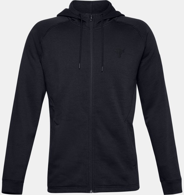 Mens Project Rock Charged Cotton® Fleece Full Zip