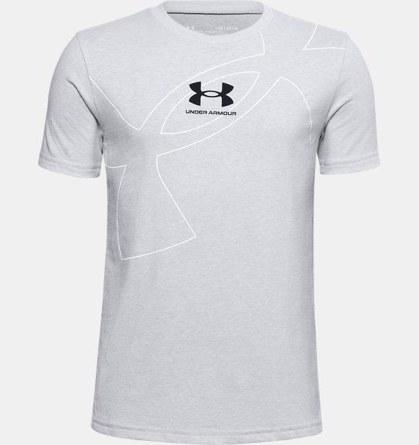 Boys UA Exploded Symbol T-Shirt