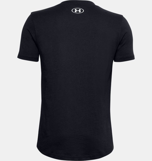 Boys UA Multicolour Wordmark T-Shirt