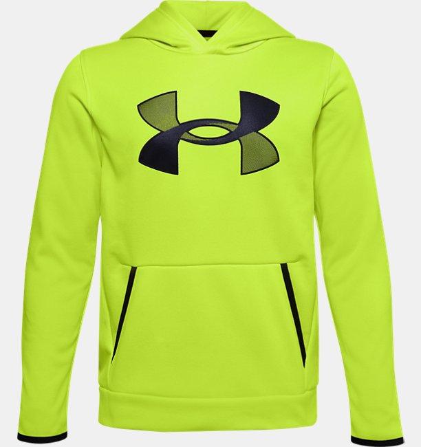 Sudadera con Capucha Armour Fleece® Big Logo para Niño