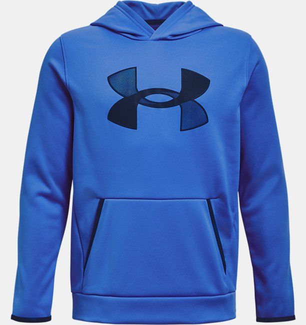 Sudadera con Capucha Armour Fleece® Big Logo para Niño