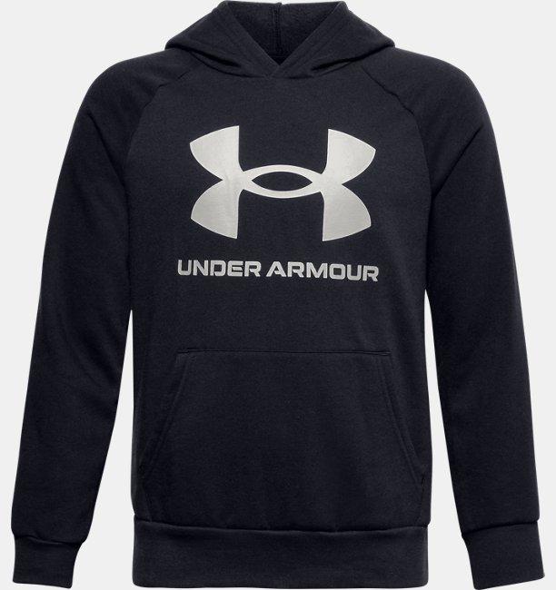 Jungen UA Rival Fleece Big Logo Hoodie