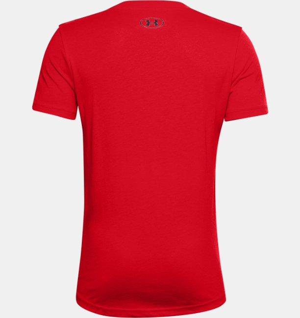 Boys UA Rival Core Short Sleeve