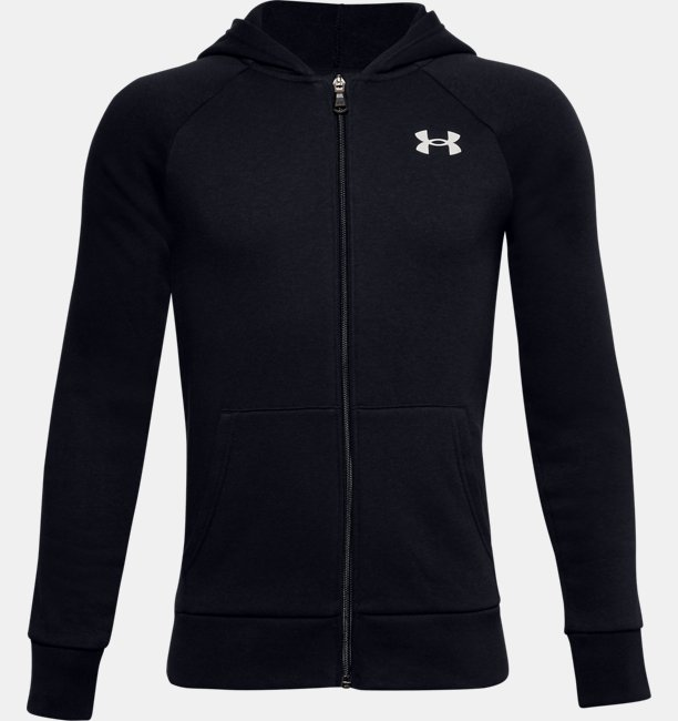 Boys UA Rival Cotton Full Zip Hoodie