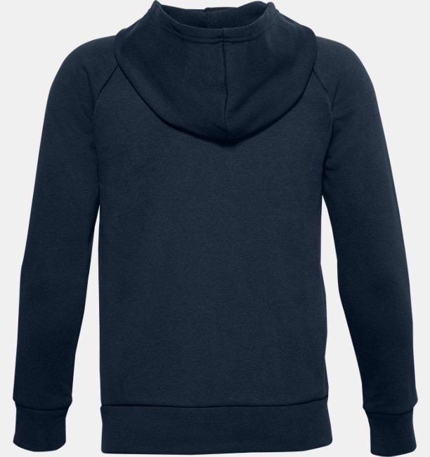 Boys UA Rival Cotton Full Zip Hoodie