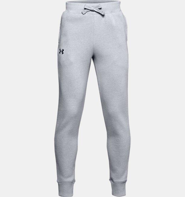Boys UA Rival Cotton Trousers