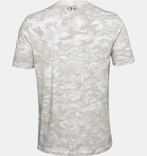 Mens UA All-Over Logo Short Sleeve