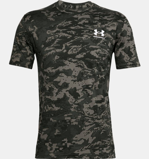 Mens UA ABC Camo Short Sleeve