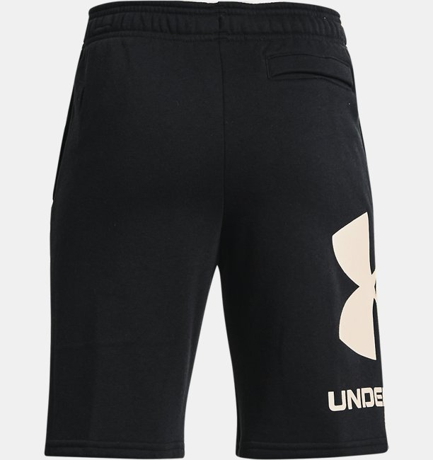 Boys UA Rival Fleece Big Logo Shorts