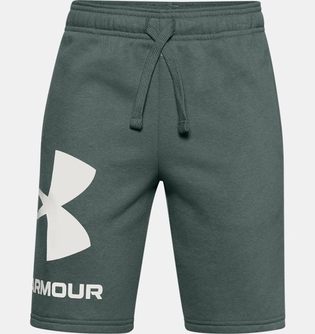 Boys UA Rival Fleece Big Logo Shorts
