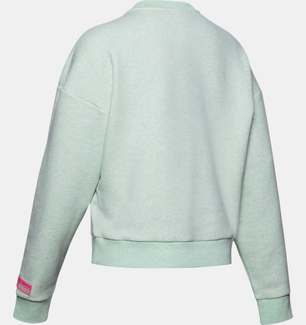 Womens UA Summit Rival Fleece Crew