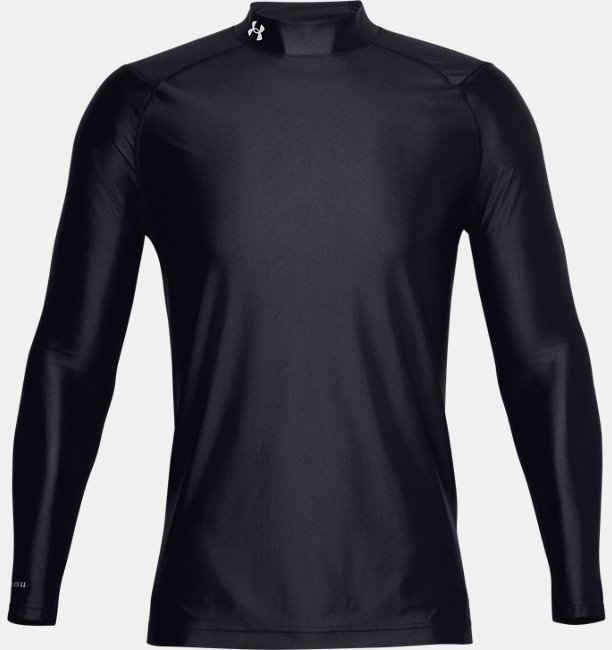 Mens UA Iso-Chill Long Sleeve Golf Mock