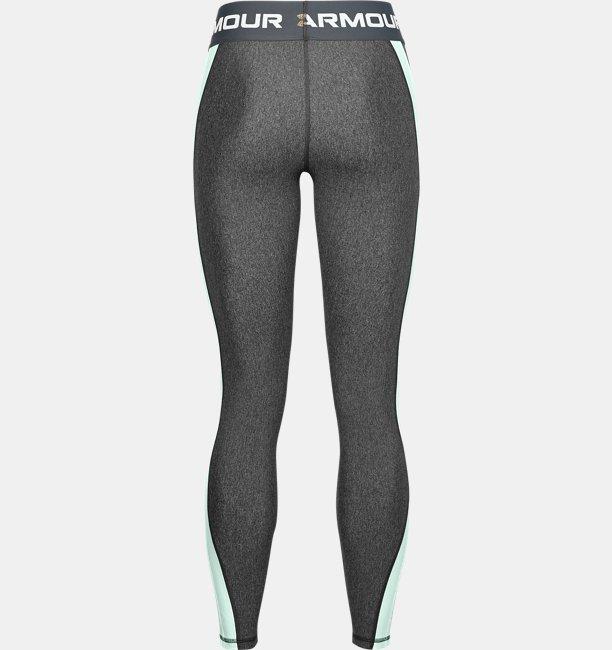 Womens HeatGear® Armour Wordmark Waistband Leggings