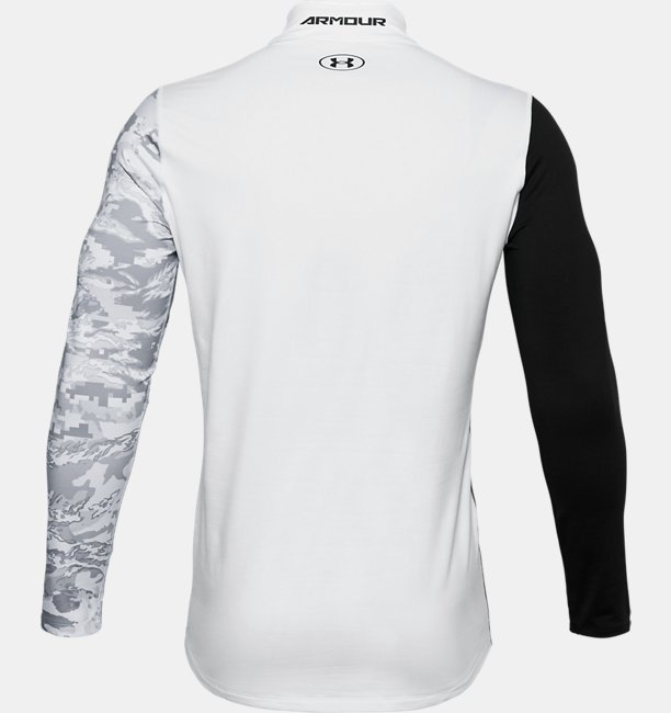 Mens ColdGear® Armour Printed Mock