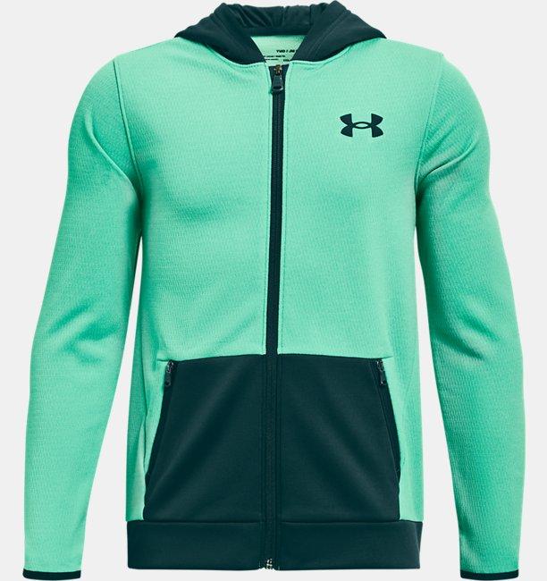 Boys Armour Fleece® Textured Full Zip