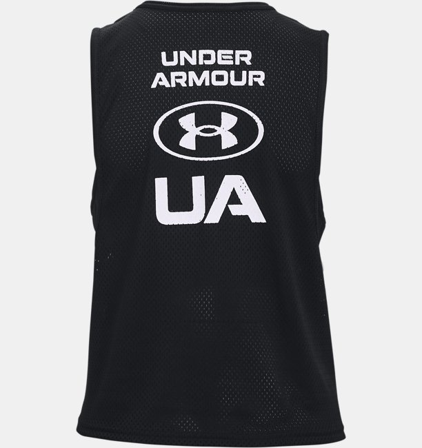 Womens HeatGear® Armour Muscle Mesh Tank