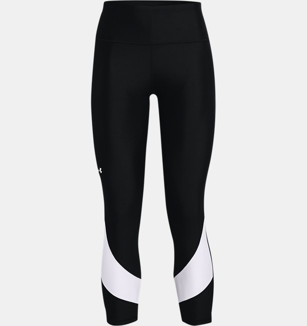 Womens HeatGear® Armour No-Slip Waistband Taped Ankle Leggings