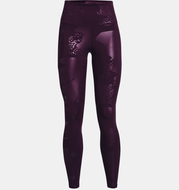 Womens UA RUSH™ No-Slip Waistband Tonal Full-Length Leggings