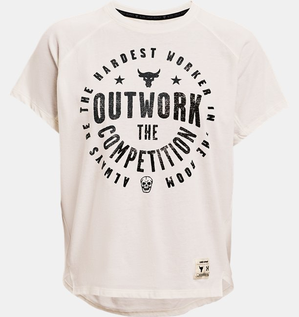 Womens Project Rock Outwork Short Sleeve