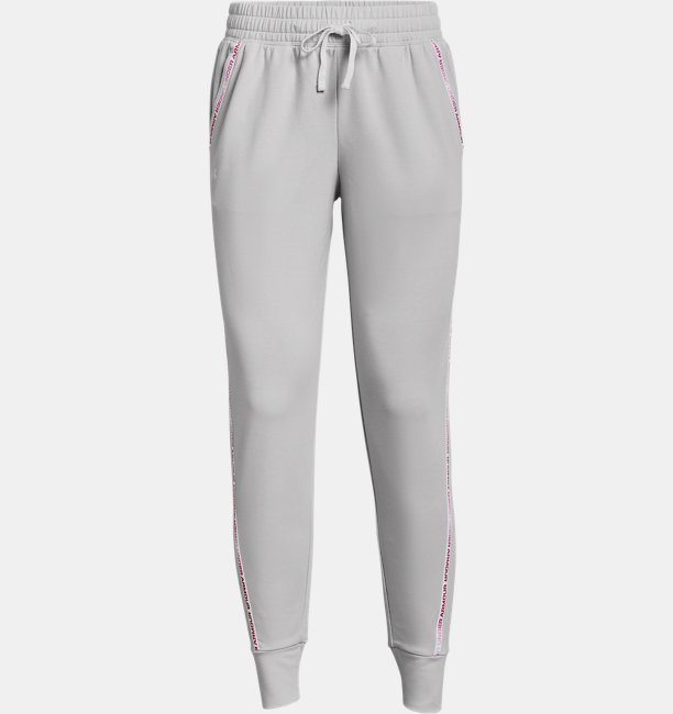 Womens UA Rival Terry Taped Pants