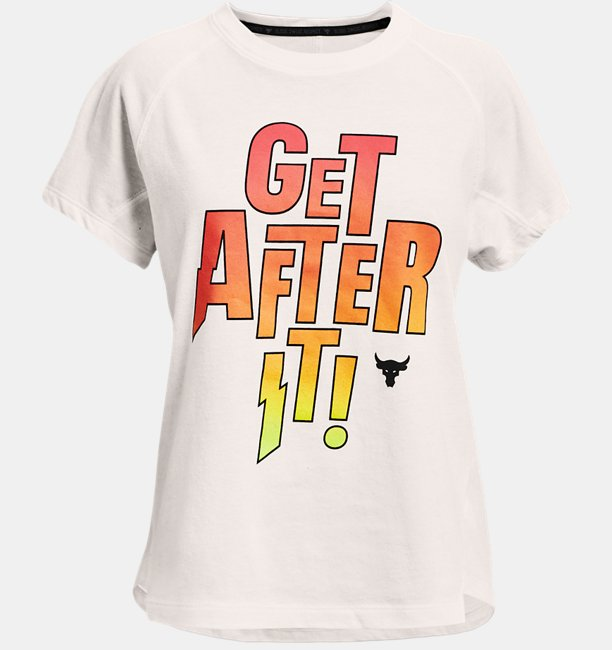 Girls Project Rock After It Short Sleeve