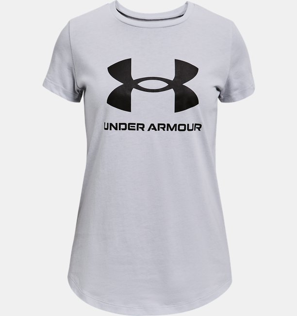 Girls UA Sportstyle Graphic Short Sleeve