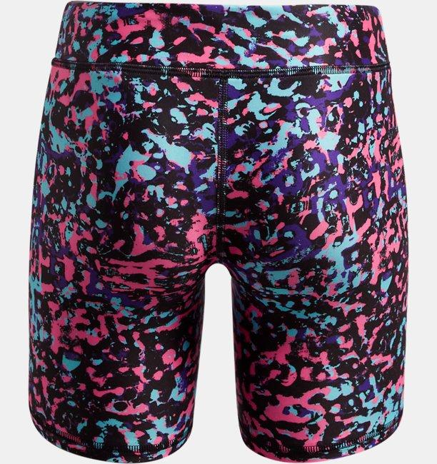 Girls HeatGear® Armour AOP Bike Shorts