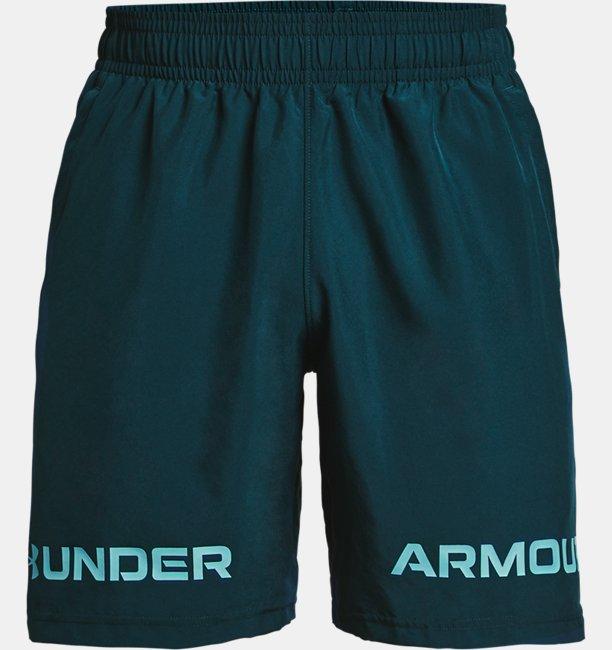 Mens UA Woven Graphic Wordmark Shorts